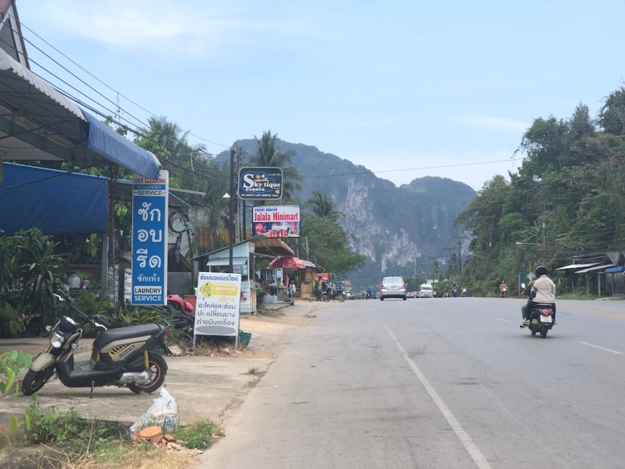 krabi town view