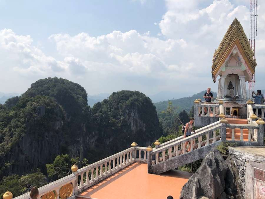 tiger cave temple view