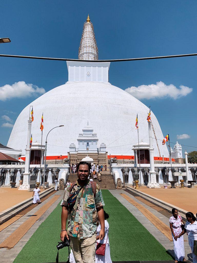 Anuradhapura Sri Lanka Ruwanwelisaya