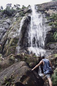 Diyaluma falls Sri Lanka