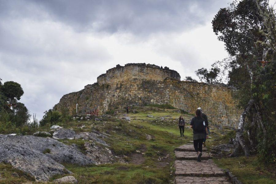 kuelap ruins without a guide chachapoyas peru