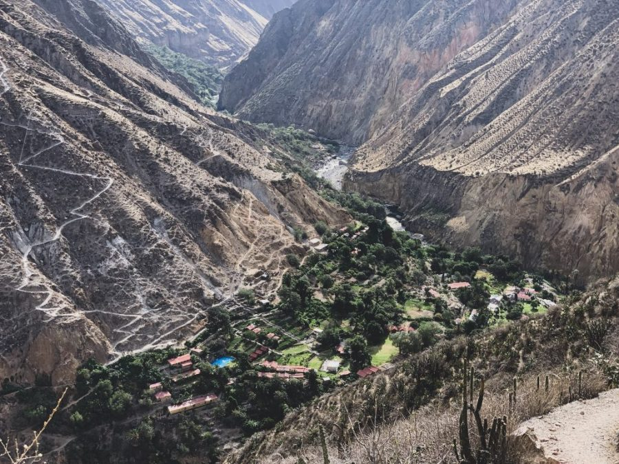 colca canyon 2 day trek guide
