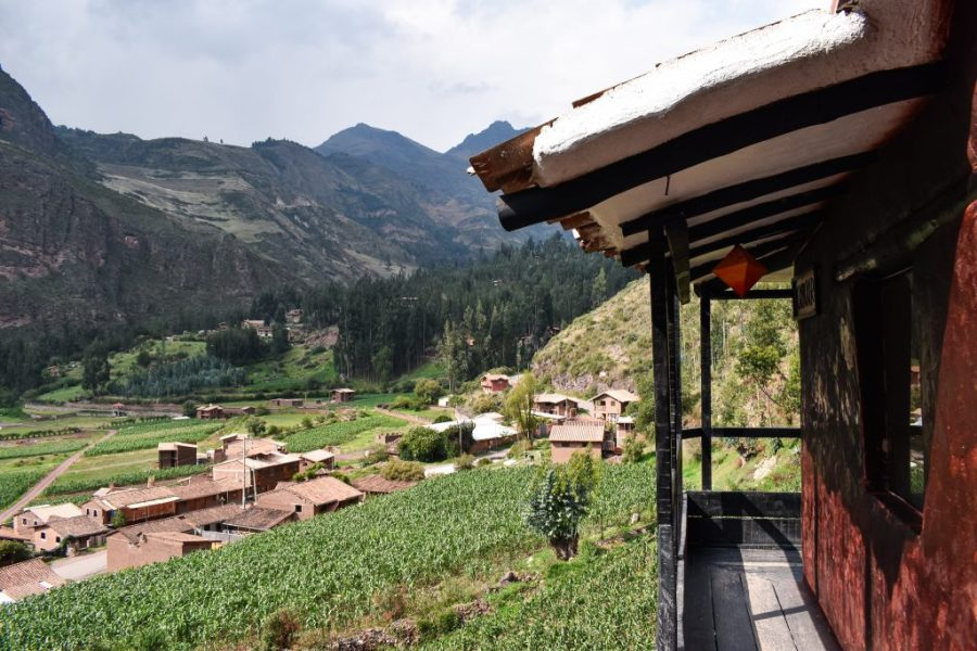where to stay in pisac peru