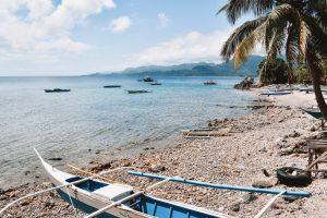 Tablas Philippines beach