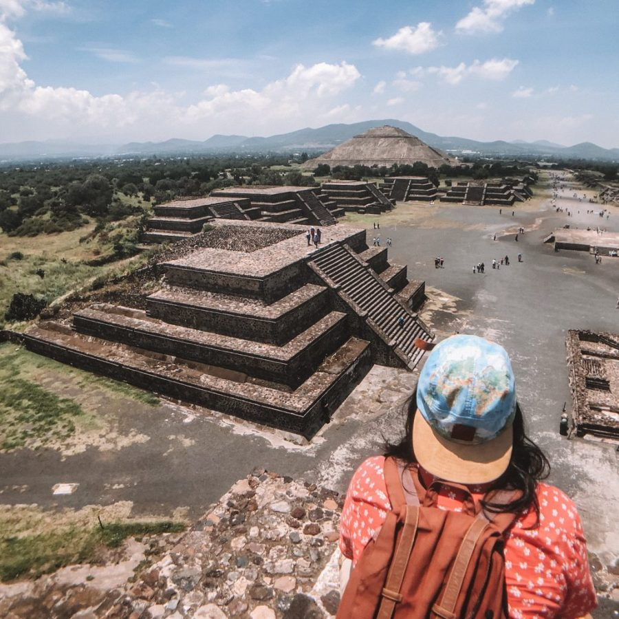 Teotihuacan Mexico ruins