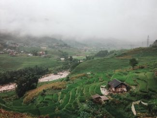 sa pa vietnam rice terrace trek