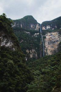 gocta falls chachapoyas peru