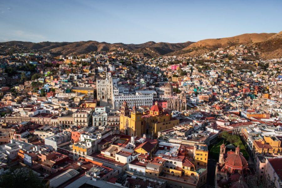 guanajuato mexico pipila monument view