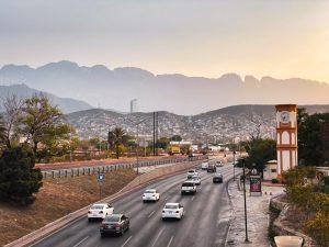 Monterry Mexico sunset mountains