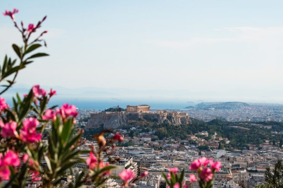 athens greece lycabettus hill