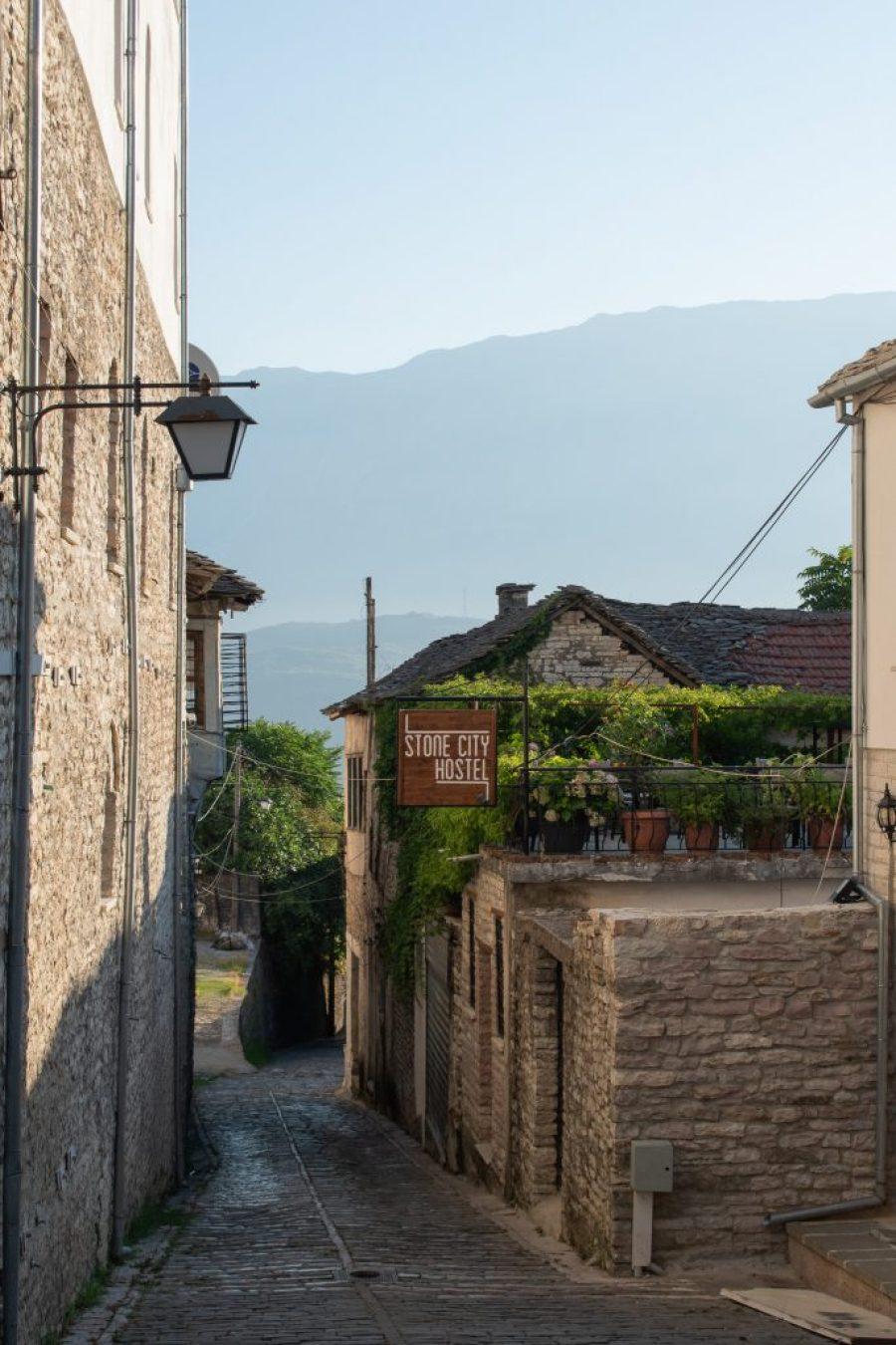 stone city hostel gjirokaster albania