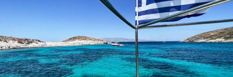 antiparos sailing captain ben greece