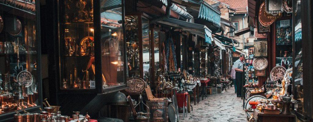 sarajevo travel guide bosnia bascarsija