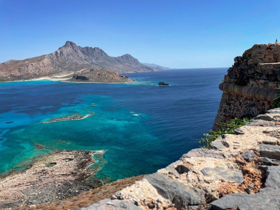 gramvoussa island crete greece