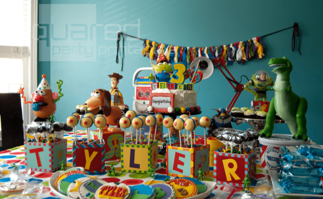Guest Party Toy Story Birthday