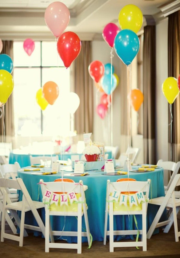twins birthday party ideas