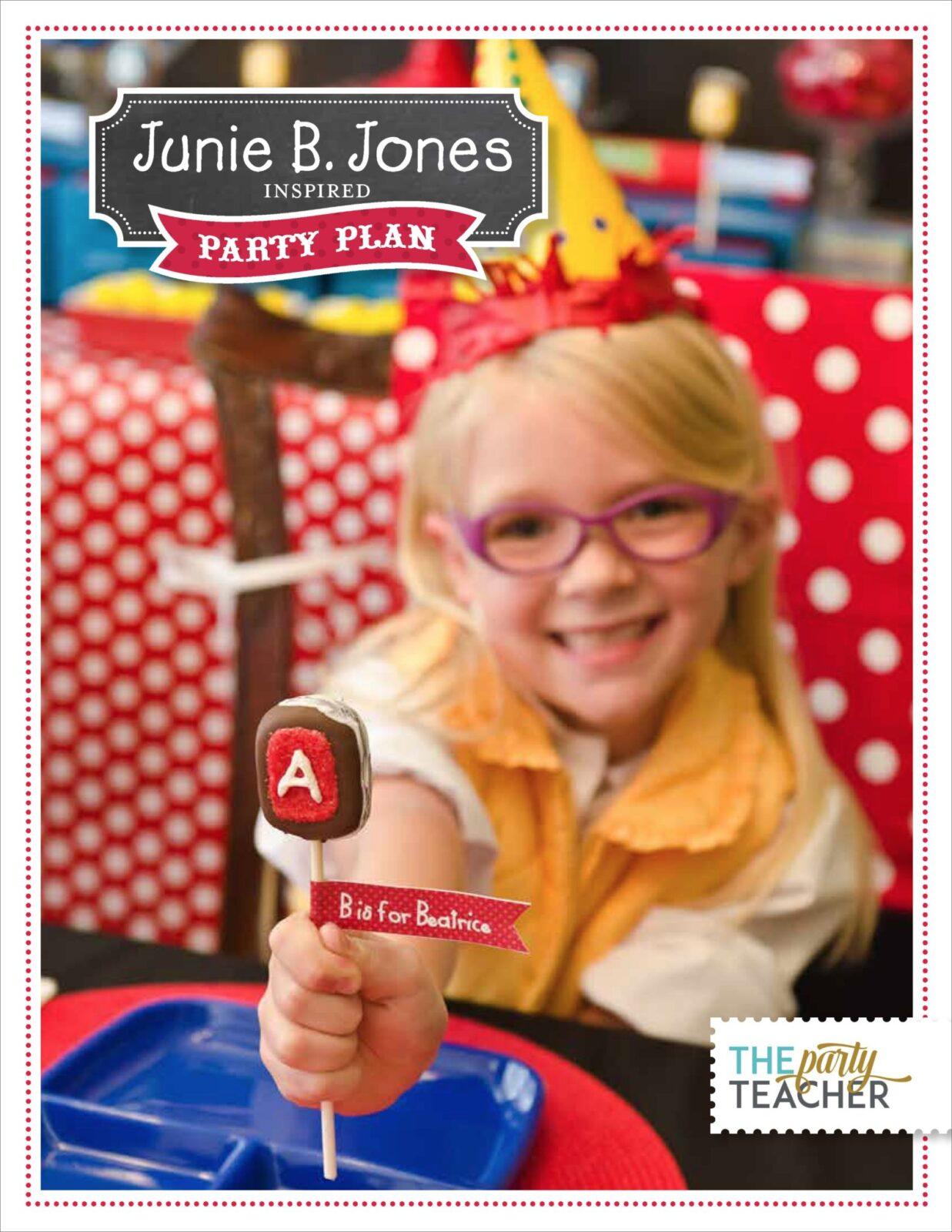 Dfp Junie B Jones Party Plan Final New Logo Only Page 01 Copy