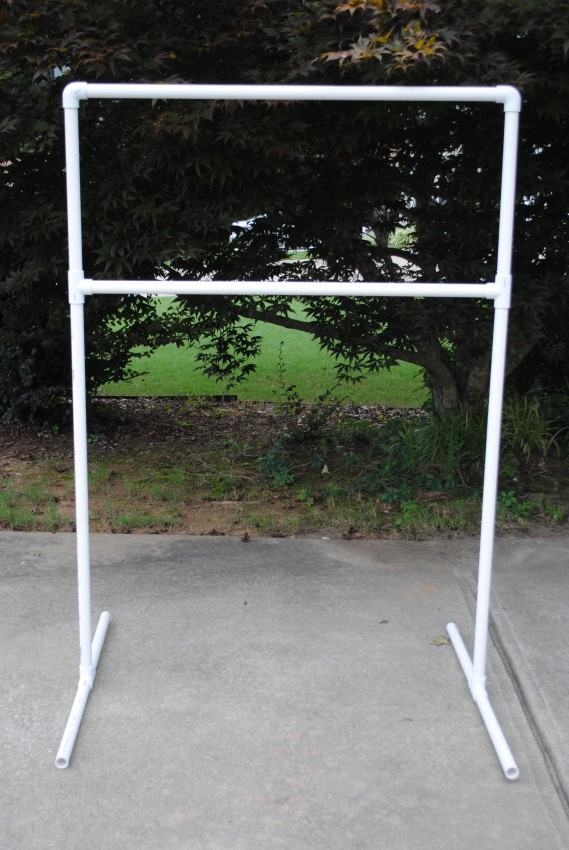 pvc pipe pipe and drape system