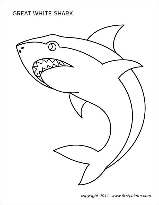 Freebie Friday: 10 Free Shark Printables
