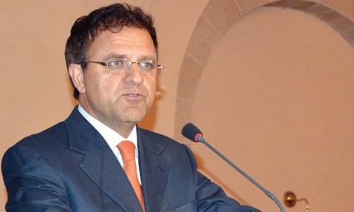 Afghanistan's Ambassador to Pakistan Dr Omer Zakhilwal