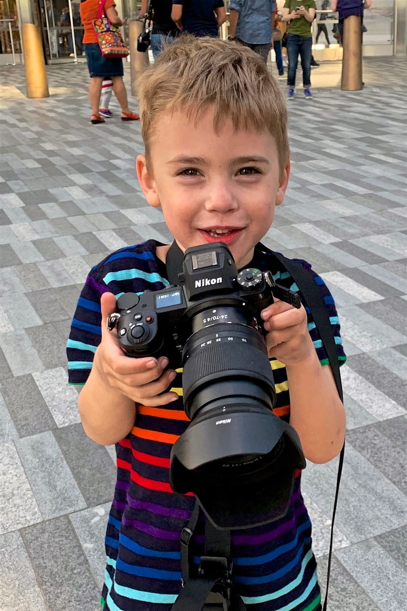 4-Year Old Loves The Eye-Detect for Nikon Z-Mirrorless Cameras