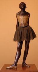 little dancer of 14 years Edgar Degas