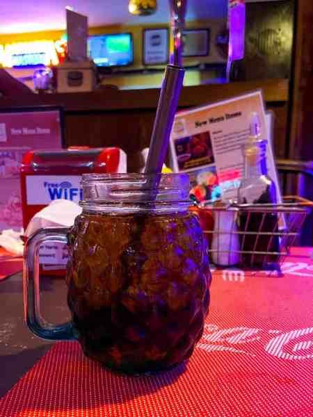 Bunty & Coke Zero at Jungle Burger Sports Bar