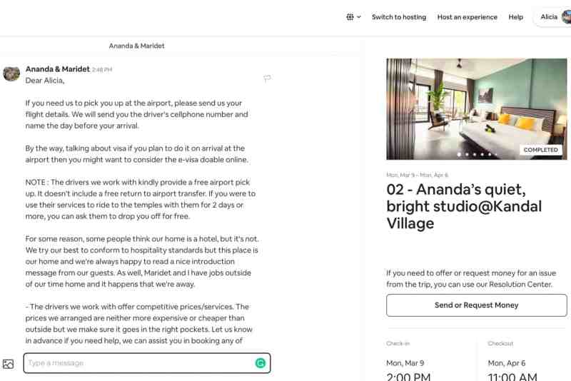 what to ask your airbnb host