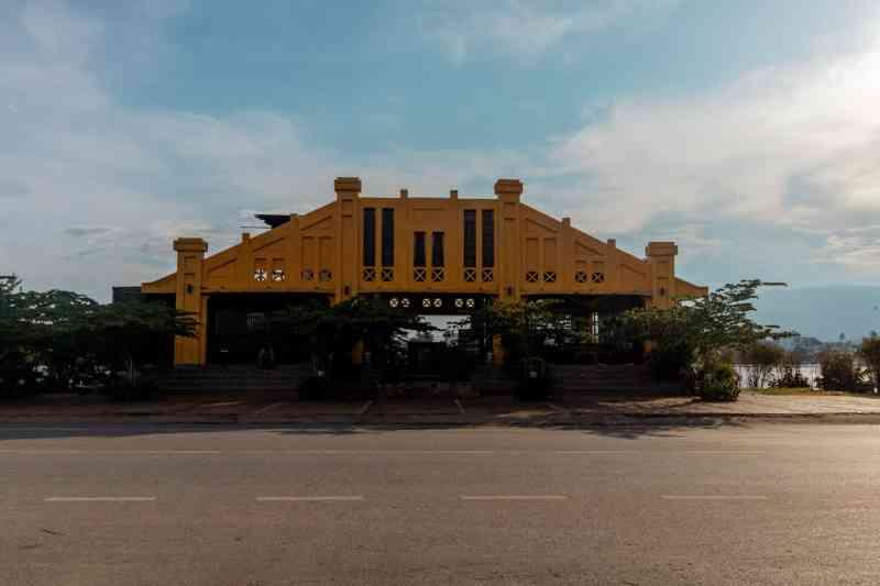 The FishMarket Storefront in Kampot, Cambodia