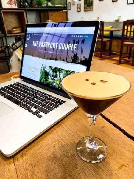Espresso Martini at Cafe Espresso Roastery