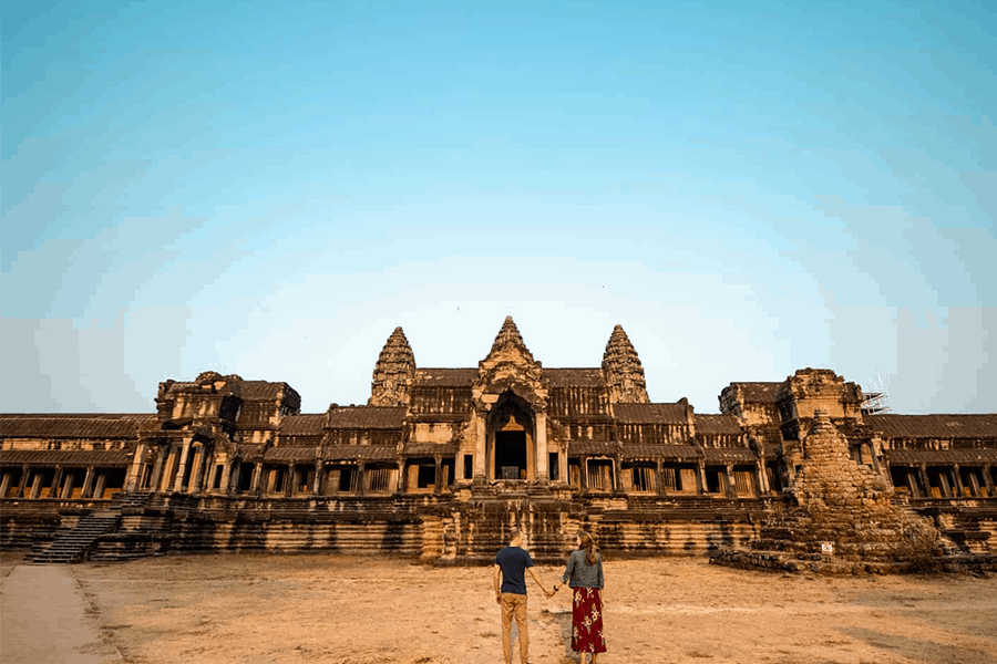 how to take photos at ankor wat
