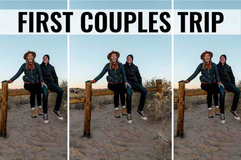 first couples trip