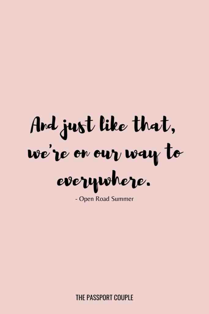 girl road trip quotes
