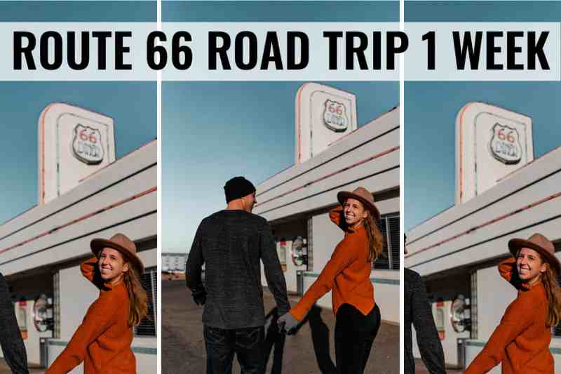 route 66 road trip 1 week