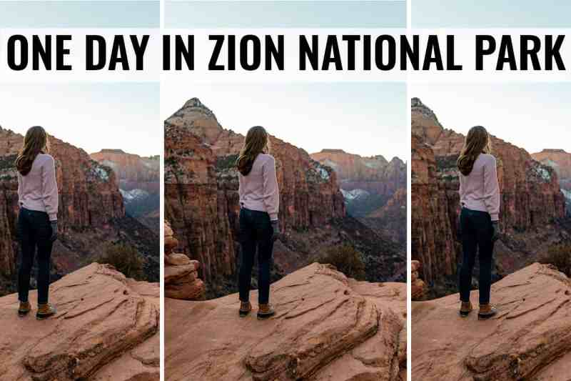 what to do in zion national park in one day