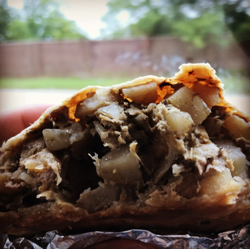 pasty, pasty review, pasties, pasty guy, king arthur's pasties, grand blanc, flint