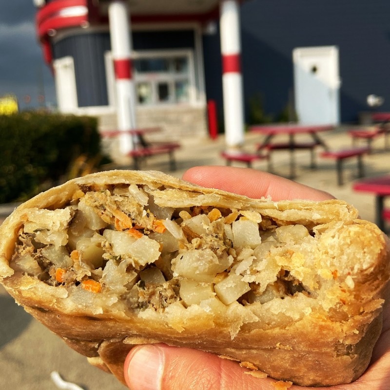 pasty, pasty review, pasties, pasty guy, jimmy's frozen custard, port huron