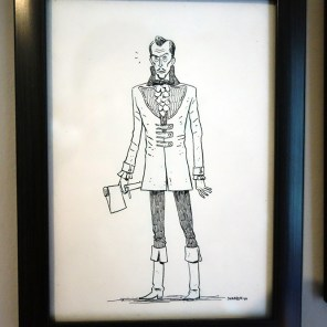 North Carolina illustrator Dharbin did this one of my favorite horror icon Vincent Price