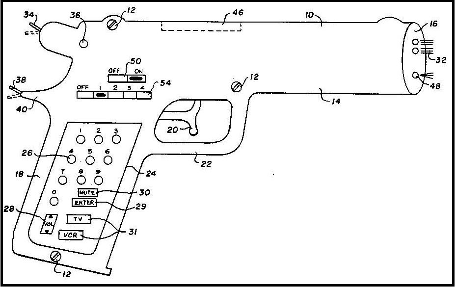 Unusual Patent Drawings: Some Interesting And Bizarre
