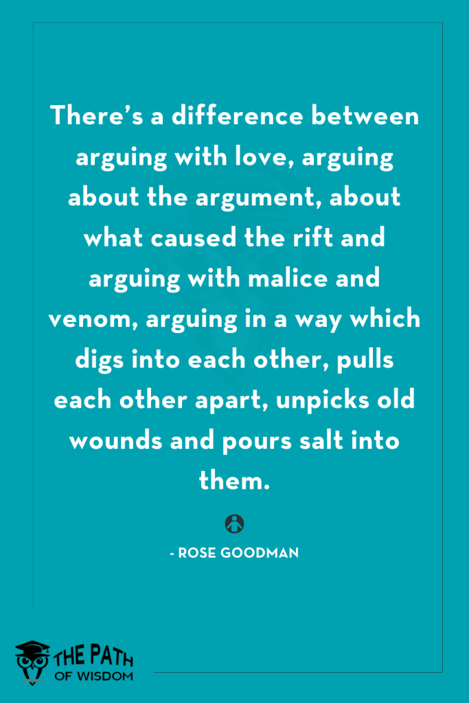 argument quotes in a relationship