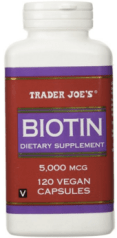cold weather beauty essential Trader Joes Biotin
