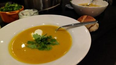 Spicy Pumpkin Soup Variation