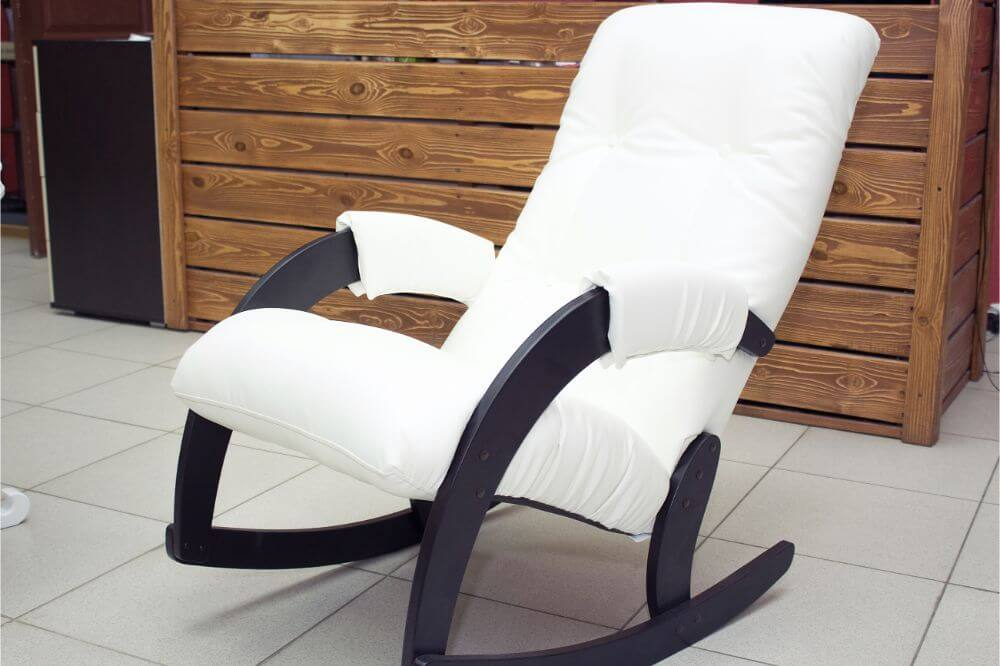 how to reupholster a rocking chair