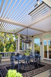 Louvered Roofs - The Patio District