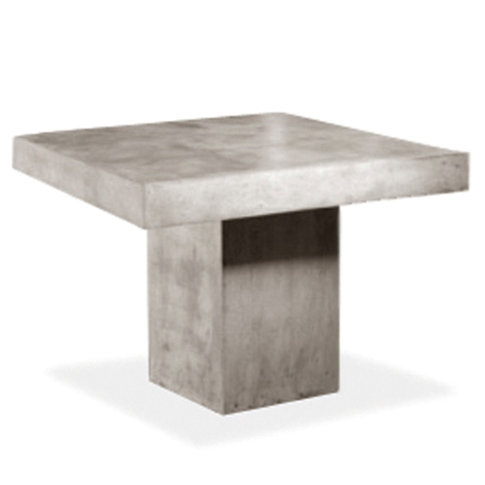 Kannoa Urban Square Dining Table  The Patio District