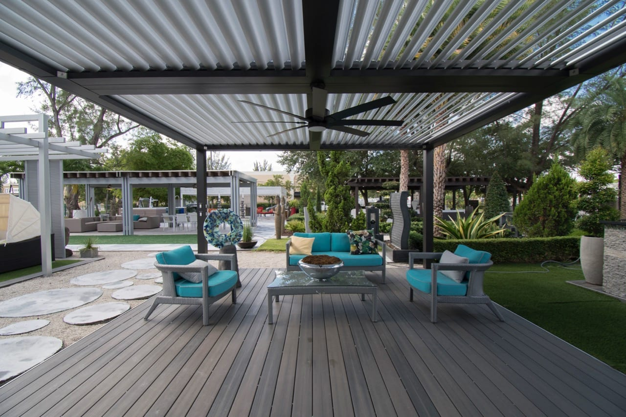 outdoor living showroom in miami the