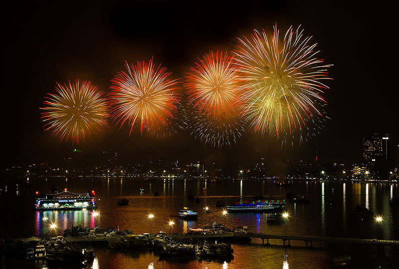 Pattaya Fireworks Festival starts today-Here is what to know, times, road closures, events, parking, etc - The Pattaya News