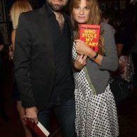 Tim Samuels with Jemima Khan