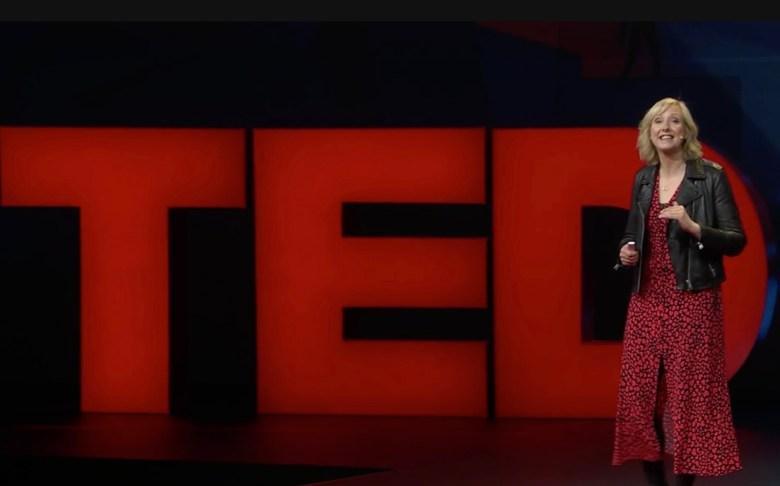 Journalist Carol Cadwalladr ( TED Talk/ print screen)