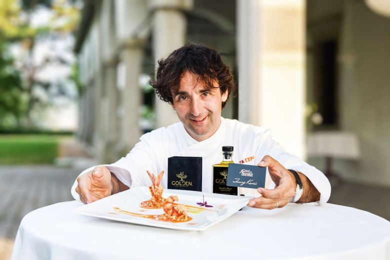 Michelin star chef Tomaz Kavcic